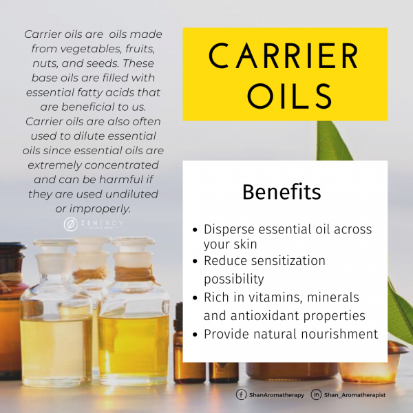benefit of carrier oil